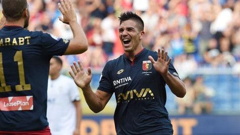 Coppa Italia, Genoa-Cesena 2-1:  Simeone scatenato. Il gol prima dell'addio