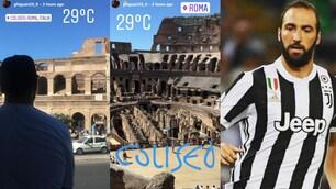 Higuain al Colosseo per dimenticare il ko in Supercoppa