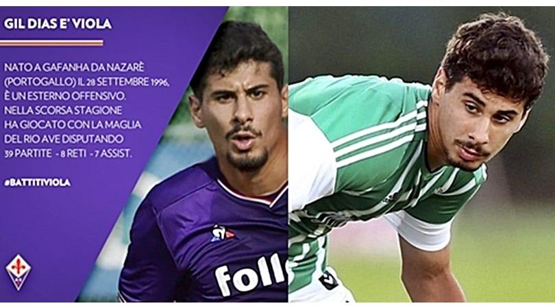 Calciomercato Fiorentina, ufficiale Gil Dias