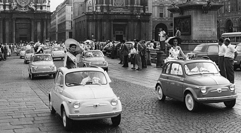 60 anni della 500: come eravamo nel 1957