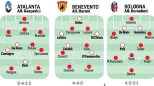 Parte il campionato: ecco le formazioni della Serie A