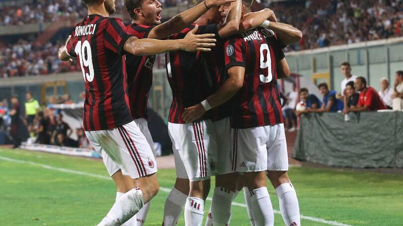 Europa League: Milan facile contro lo Shkendija
