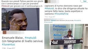Matuidi è della Juventus, sui social i tifosi si dividono