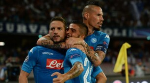 Mertens-Jorginho show, festa Napoli al San Paolo