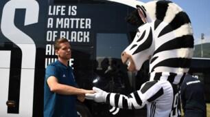 Juventus, Szczesny dà la mano alla zebra a Villar Perosa
