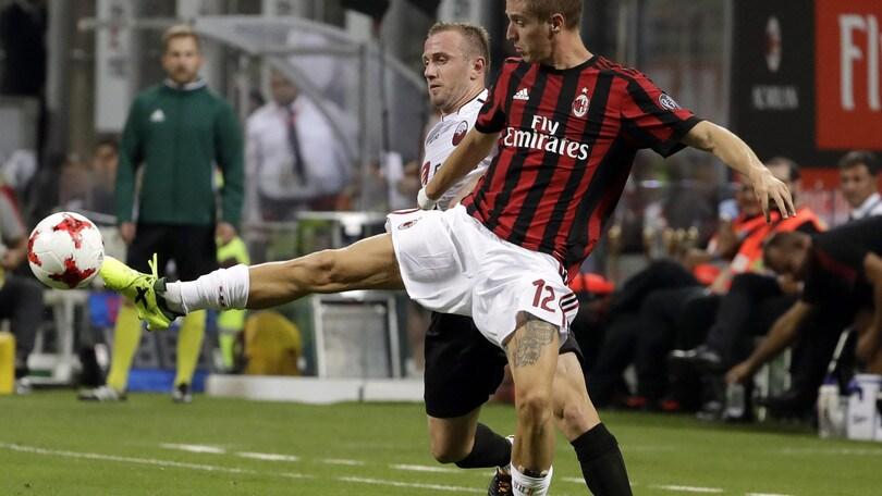 Europa League Milan, i convocati. Fuori Conti, Rodriguez e Borini