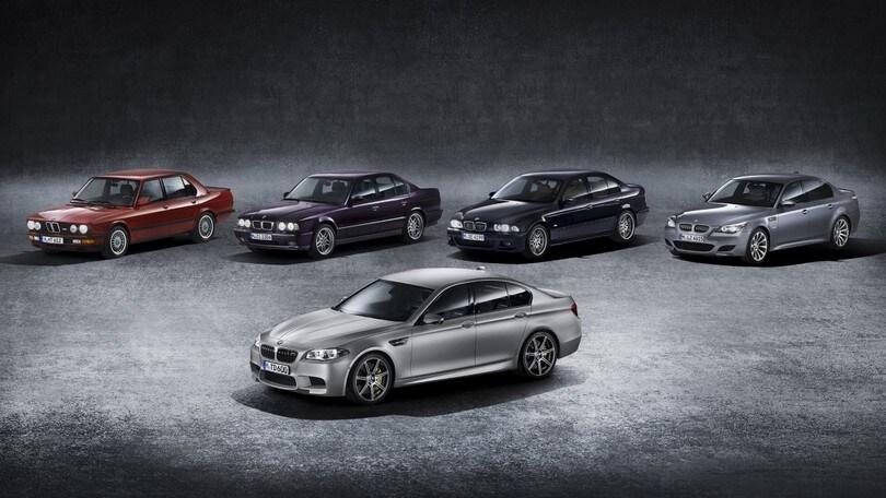 BMW M5, la sesta generazione è in rampa di lancio