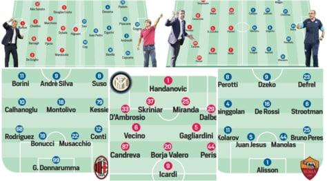 Serie A, le probabili formazioni della prima giornata