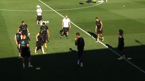 Zidane si diverte con il torello
