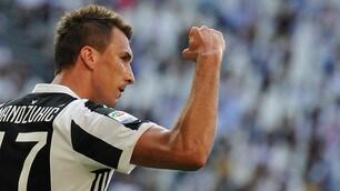 Juventus-Cagliari, Mandzukic segna il primo gol del nuovo campionato