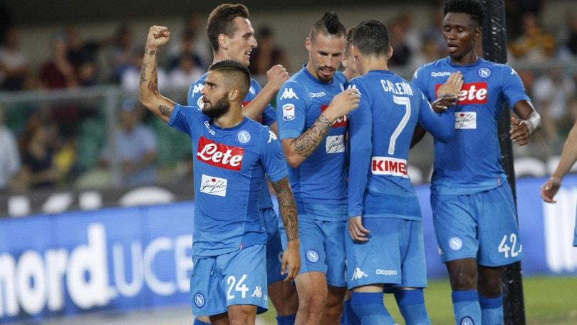 Serie A Verona-Napoli 1-3, il tabellino