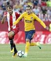 Doppia rimonta per un Atletico Madrid in dieci: 2-2 a Girona