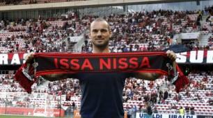 Ligue 1, il Nizza scopre Sneijder e si rialza: 2-0 al Guingamp, 25 minuti perBalotelli