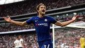 Premier League, riscatto immediato per il Chelsea: doppietta di Marcos Alonso