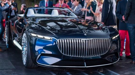 Mercedes Maybach Vision 6, la super cabrio del futuro