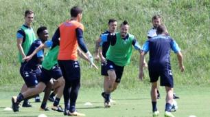 Champions, il Napoli a lavoro in vista della sfida con il Nizza