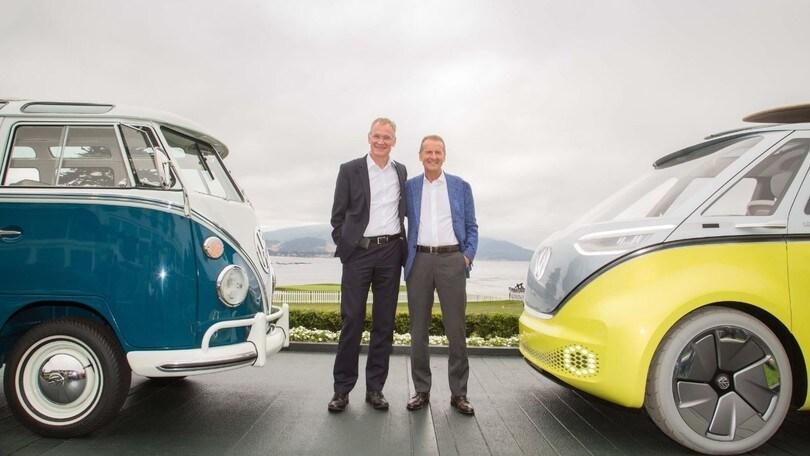 Volkswagen: il Bulli elettrico in commercio dal 2022
