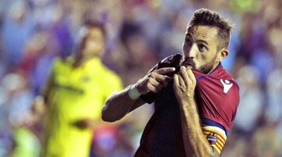 Liga: Levante-Viallarreal 1-0, Bacca perde all'esordio