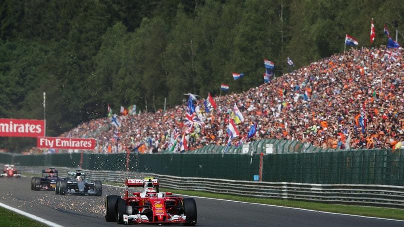 Circuito Spa : F1 ferrari: «spa circuito storico e curve impegnative» corriere