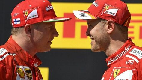 F1 Ferrari, Raikkonen rinnova per il 2018