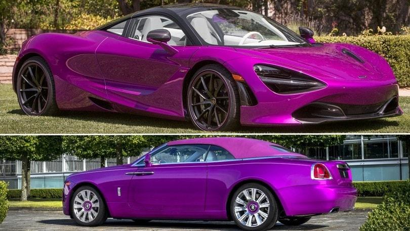 Fux Fuxia, come ti personalizzo la McLaren e la Rolls