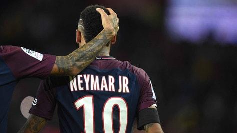 Lo show di Neymar contro il Tolosa