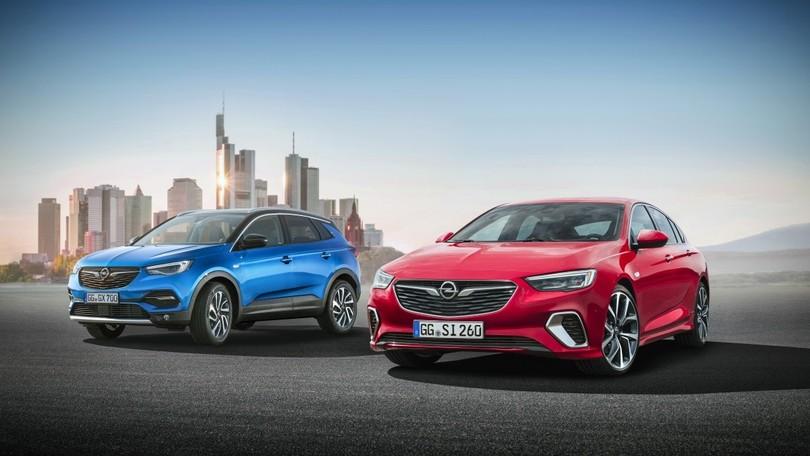 Opel al Salone di Francoforte tra Grandland X e Insignia GSi