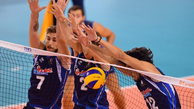 Volley: Mondiali U.19, l'Italia supera la Cina