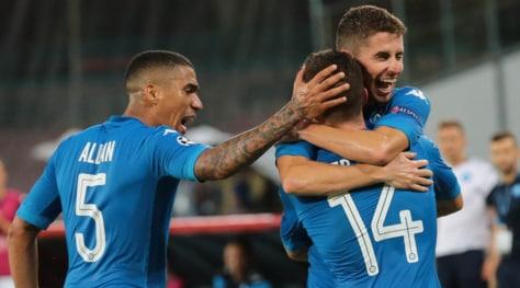Nizza-Napoli, le pagelle: Jorginho top, mago Insigne