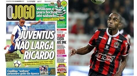 Calciomercato Juventus, Ricardo per la fascia