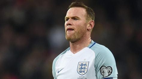 Inghilterra, Rooney dice addio alla nazionale: «Decisione difficile»