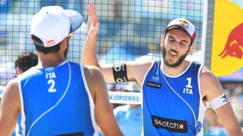 Beach Volley: Lupo-Nicolai vincono la prima ad Amburgo