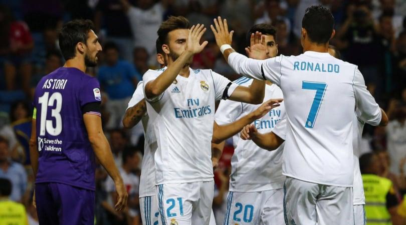 Trofeo Bernabeu, Real Madrid-Fiorentina 2-1: decisivo Cristiano Ronaldo