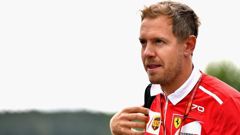 F1, Gp Belgio: Vettel parte in salita
