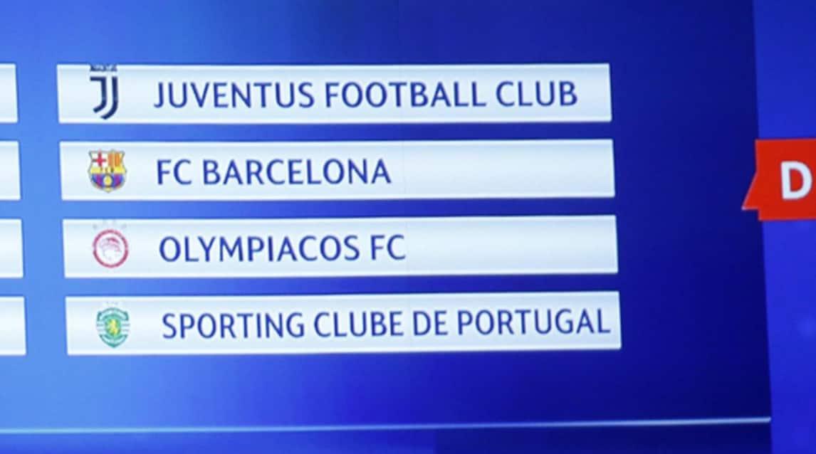 Calendario Champions Juventus.Champions League Il Calendario Della Juventus Le Partite