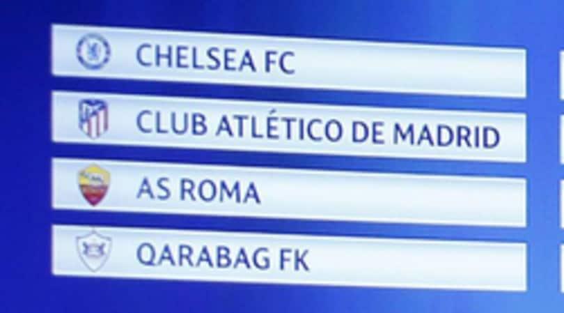 Champions, il calendario Roma