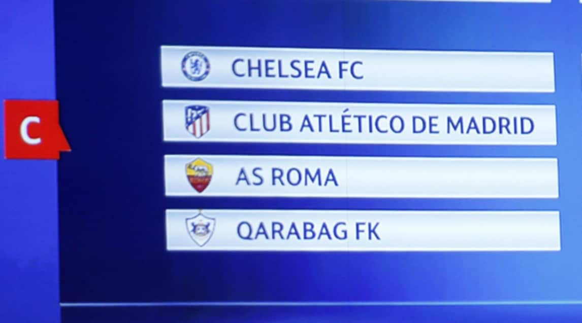 Calendario Partite Champions.Champions League Il Calendario Della Roma Le Partite Del