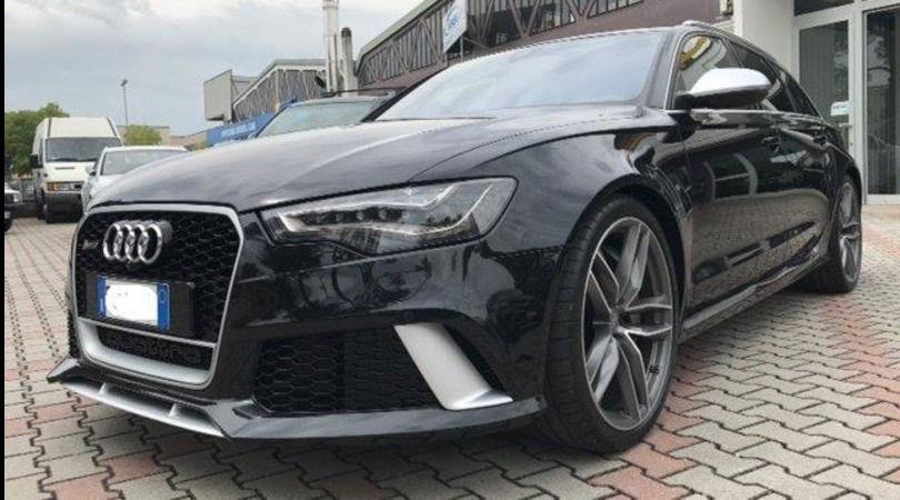 L'usato sicuro di Valentino Rossi: l'Audi RS6 in vendita a 111 mila euro