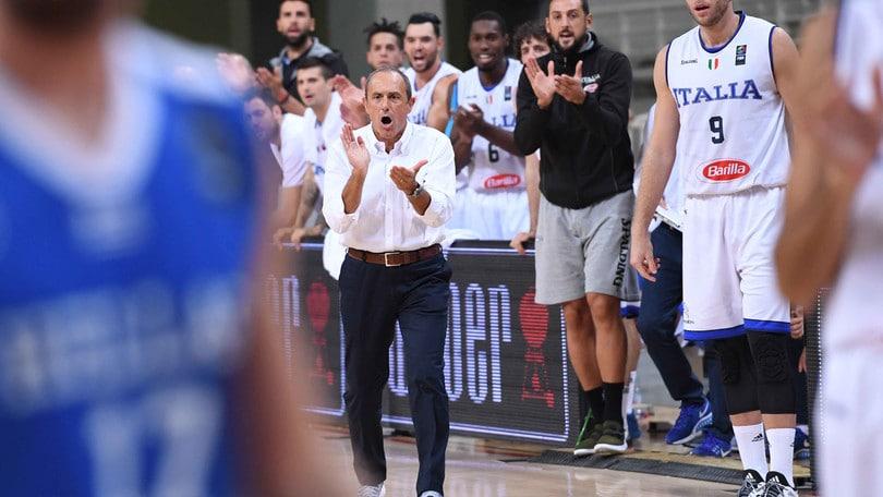 Eurobasket 2017, i 12 convocati scelti da Messina