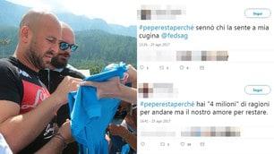 #Peperestaperché, quanti messaggi d'amore sui social per Reina!