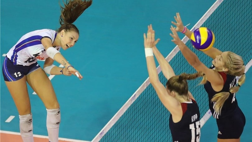 Volley: Mondiali U.18, l'Italia supera gli Usa e conquista la semifinale