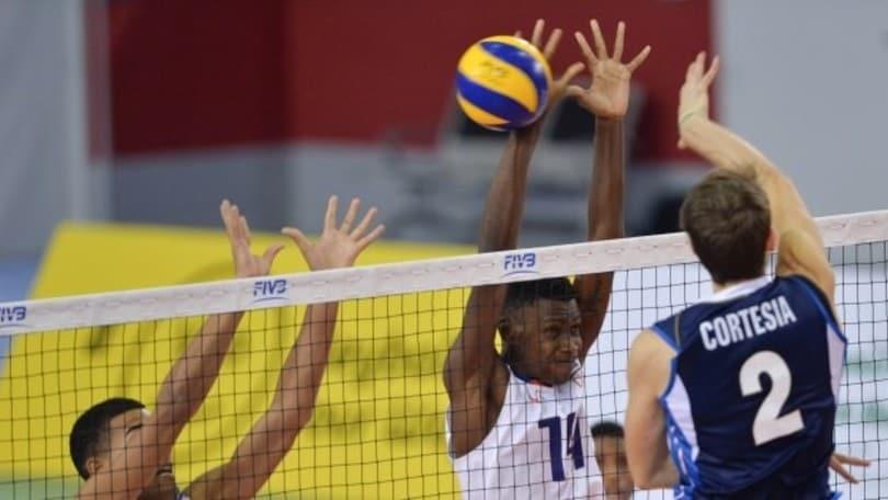 Volley: Mondiali U.19, l'Italia batte Cuba e continua la corsa al 9° posto