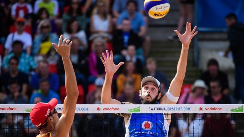 Beach Volley: Lupo-Nicolai in semifinale ad Amburgo