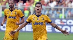 Serie A: Genoa-Juventus 2-4, le immagini dello show di Dybala