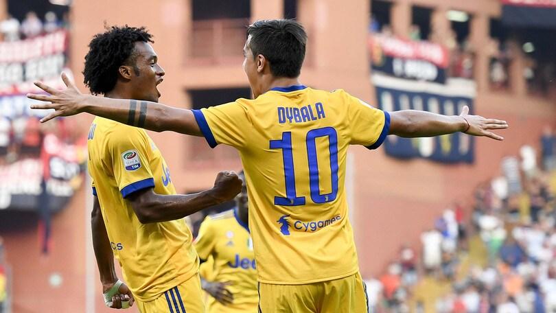 Serie A Genoa-Juventus 2-4, il tabellino