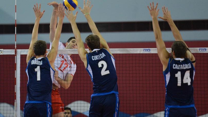 Volley: Mondiali U.19, l'Italia in finale per il nono posto