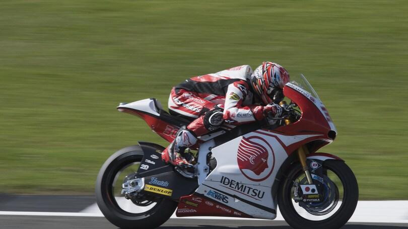 Moto2 Silverstone: successo Nakagami, Pasini secondo