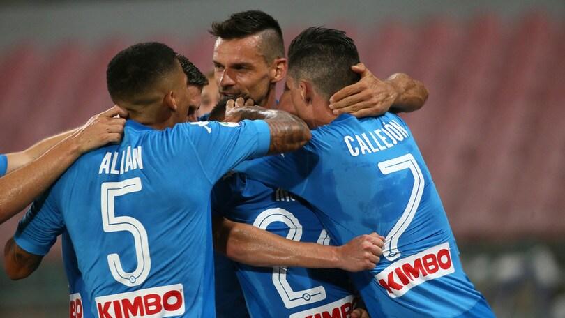 Serie A Napoli-Atalanta 3-1, il tabellino