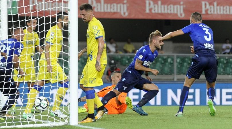 Serie A, Chievo-Lazio 1-2: Pucciarelli replica a Immobile, Milinkovic decide nel finale