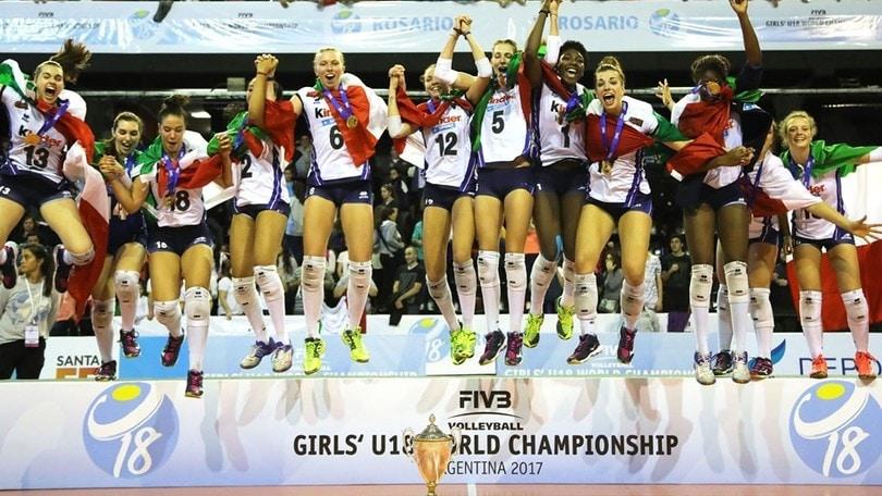 Volley: Mondiali U.18 Femminile, l'Italia è Campione del Mondo